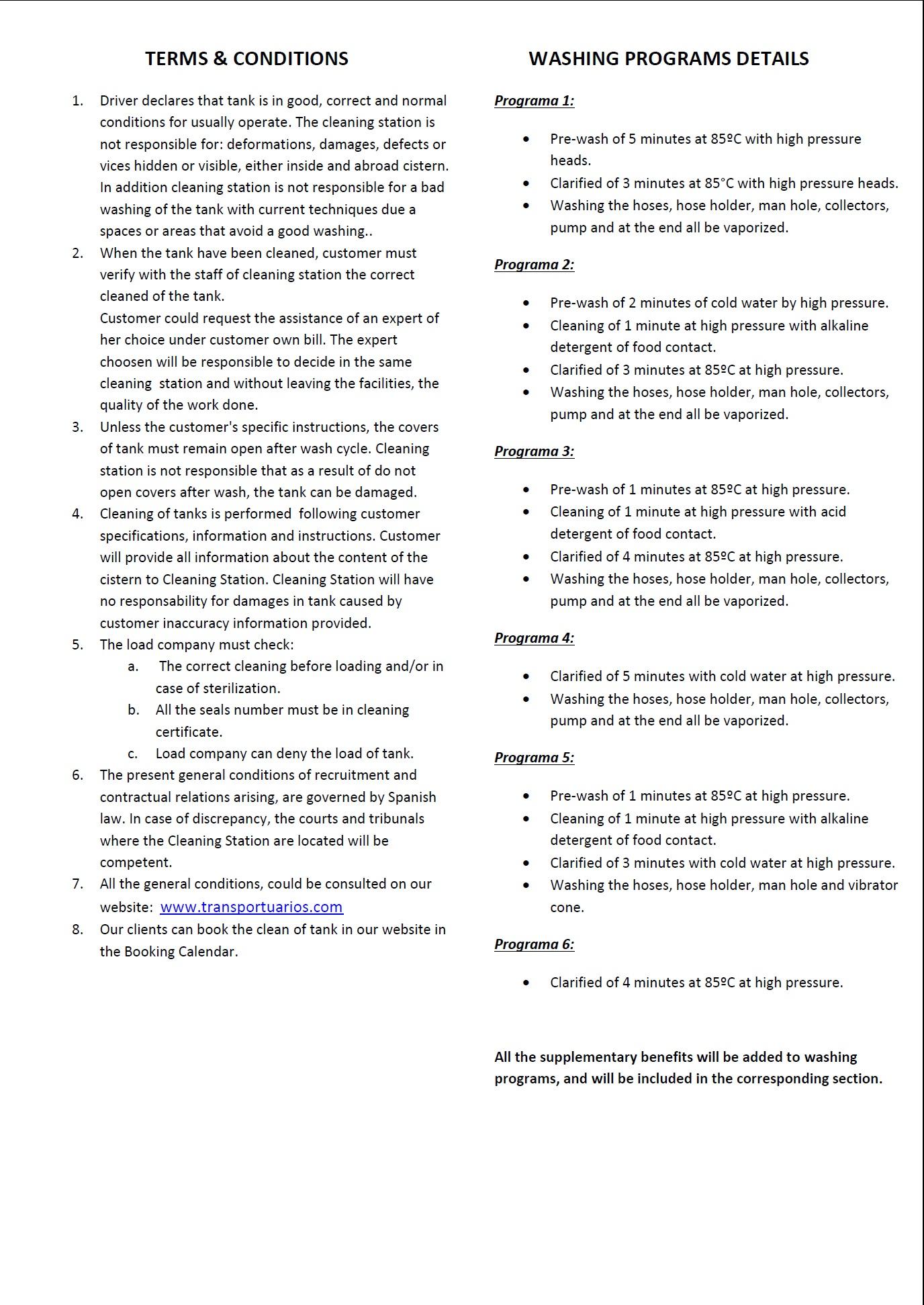 Certificado de Lavado - 2
